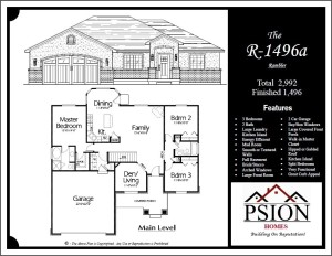 1496 Rambler Floor Plan