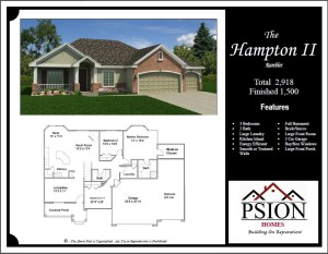 1500 Rambler Floor Plan