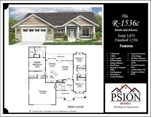 1536 Rambler Floor Plan