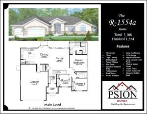1554 Rambler Floor Plan