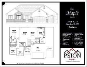 1575 Rambler Floor Plan