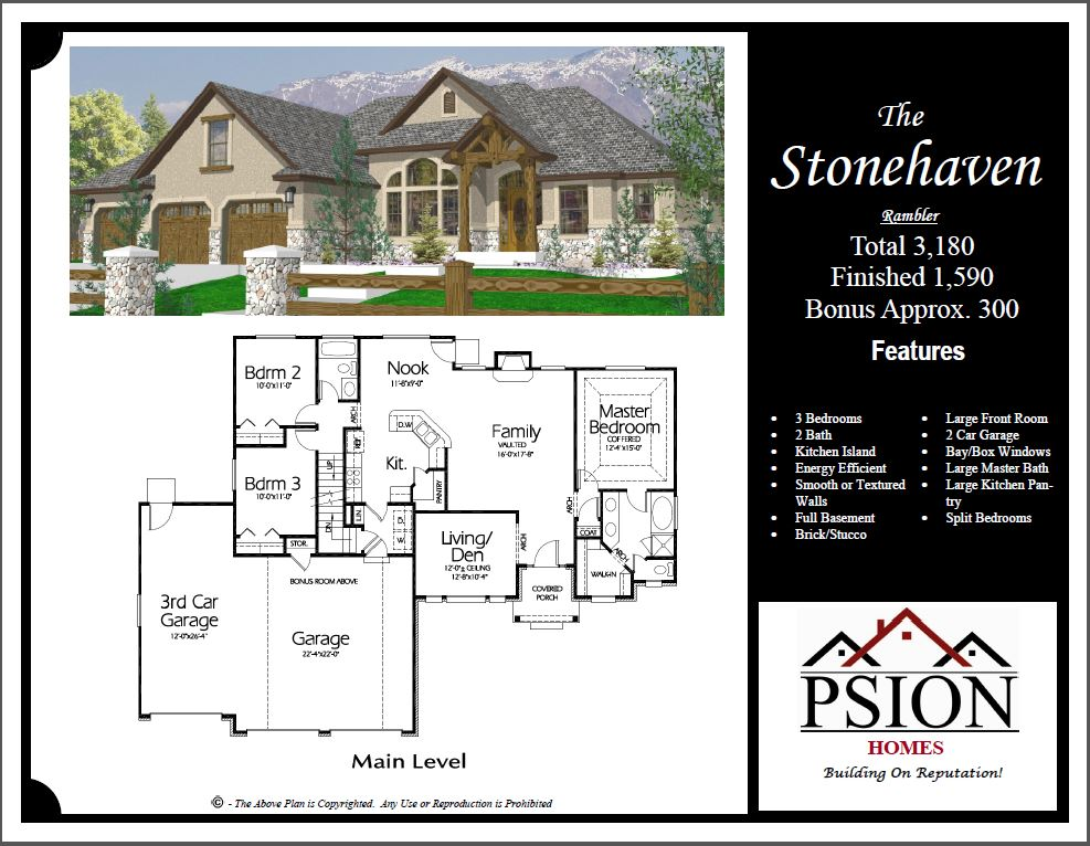 Professional house floor plans custom design homes winning for Professional house plans