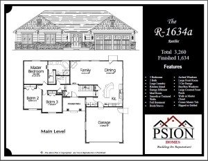 1634 Rambler Floor Plan