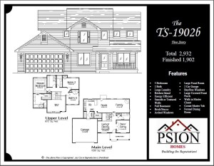 1902 Two Story Floor Plan