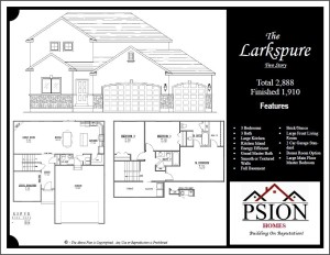 1910 Two Story Floor Plan