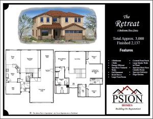 2137 Two Story Floor Plan
