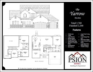2260 Two Story Floor Plan