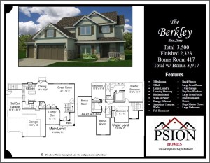 2323 Two Story Floor Plan