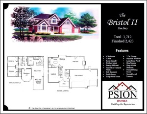 2423 Two Story Floor Plan